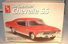 1969 Chevrolet Chevelle SS 1/43 Plastic Model AMT Mint in Box Free shipping
