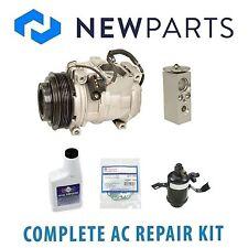 For Mercedes W124 300E 86-93 Complete A/C Repair Kit w/ OEM Compressor & Clutch