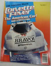 Corvette Fever Magazine Covette L88 Legendary Muscle August 1989 050215R