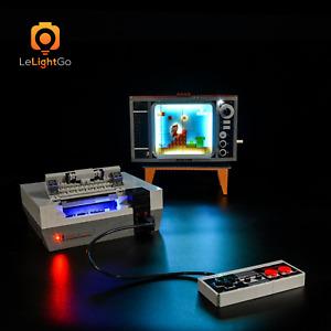 Advanced LED Light for Lego 71374 Nintendo Entertainment System Super Mario