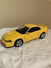 Maisto 1/18 2003 Ford SVT Mustang Cobra Yellow Extremely Rare!!!!