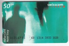 EUROPE TELECARTE / PHONECARD .. SUISSE 50FRCH  SWISSCOM ART PHOTO VERT +N°