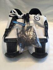Gallaz Dakotah Leather Childrens Kids Blue White Skate Shoes UK Size 6.5 BNWOB