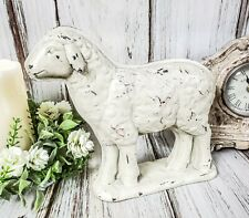Rustic Sheep Mold Figure Vintage / Antique Farmhouse Inspired Decor Accent