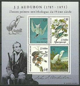 BLOC FEUILLET N° 18 NEUF XX  FRAICHEUR POSTALE - LUXE - .J.J AUDUBON