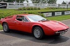 "Maserati Merak Poster Mini 11""X17"""