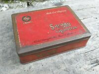 Collectable c1930's Vintage Tobacco Tin - Sarony Silk Cut Virginia London