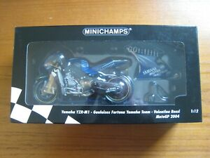 MINICHAMPS 1 12 Valentino Rossi Yamaha YZR-M1 Moto GP 2004. 122 043046