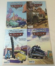 2009 Boom! Disney/Pixar CARS RADIATOR SPRINGS movie comics #1 2 3 4 ~ FULL SET