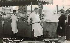 RPPC Cooking crabs at FIsherman's wharf,San Francisco, crabs 10 cents each & up