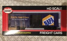 Model Power 98008 40' Canadian Box Car, Napa Gold Filters, HO Scale