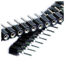 10 PCS SIP Single Row 40 Pin 0.1inch Socket Connector Strip X2S4