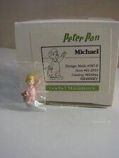 + # a015996_07 Goebel ARCHIVIO pattern Olszewski DISNEY Miniatures Peter Pan, Michael