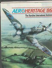 AeroHeritage 86 Hamilton International Airshow Canada 1986 Program