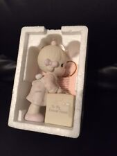 "Precious Moments ""Sharing Is Universal"" Figurine, E-0007, in box"