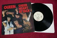 QUEEN - SHEER HEART ATTACK - 1974 UK PRESSING A6 B7 LP ALBUM EMI EMC 3061 EX