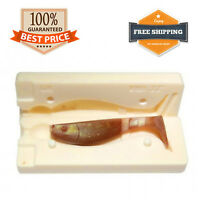 Relax Kopyto Shad Bait Mold Fishing Soft Plastic Lure 50 - 100 mm 4 variations