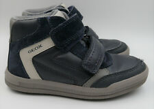 Geox Leather Shoes for Boys with Hook   Loop Fasteners  706545c169d
