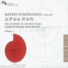 Haydn: Sinfonie Volume 5 N.33, 38, 39, 41, 58, 59, 65 / Hogwood, AAM - CD