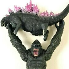 "Bandai GODZILLA VS. 7"" KING KONG figure set lot Skull Island Monsters versus"