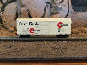 N scale Micro trains 40' single door boxcar N de M FERRO TIENDA NIB
