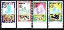 Kenya - 1981 World food day - Mi. 201-04 MNH