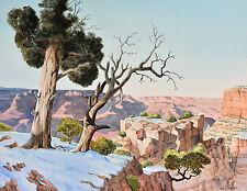 "Grand Canyon watercolor 16"" x 20"" PRINT"