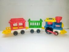 Vintage Fisher Price Little People Train Set 1991