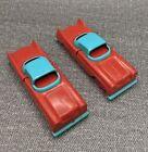 Vintage Tri Play Toy cars Crashmobile Break Apart
