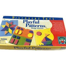 Discovery Toys Playful Patterns Design Activity Play Learning Game Preschool
