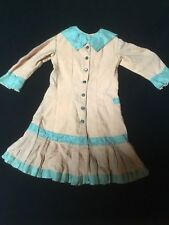 Very Old Antique/vintage Dress For A Large Doll Bear Sewing As Is