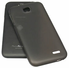MEDIACOM BACK CASE IN SILICONE BLACK  X PHONE PAD S550 CUSTODIA COVER