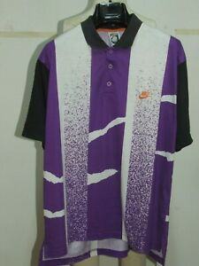 Camiseta Shirt Trikot Maillot Tenis Polo Vintage NIKE Agassi Challenge T.M -