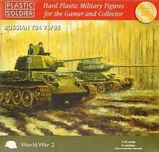 WW2V20001 20MM RUSSIAN T34 76/85 - PLASTIC SOLDIER COMPANY - WW2 TANK SOVIET