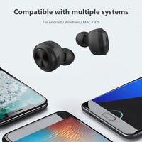 A6 TWS Mini Auriculares estéreo inalámbricos Bluetooth 5.0 HiFi con Caja carga