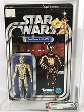 1977-1978 Star Wars Kenner 20 Back A, C-3PO Action Figure AFA 80, C85 B80 F85