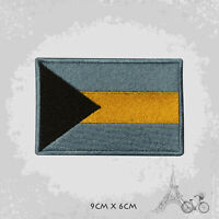 Bahamas National Country Flag Patch Iron On Patch Sew On Embroidered Patch