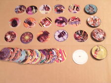 Pogs Hakeem/Shaq Complete Set of All 40 Pogs and 4 Slammers Rare