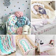 1-4M Baby Nestchen Geflochten Krippe Schlange Bett Nackenrolle Babynest Dekor