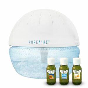 PureAire Basic & 3 Essence Pack Air Purifier Revitaliser & Humidifier Ioniser