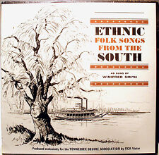LP- Ethnic Folk Songs From The South- Winifred Smith- 630-D-2211