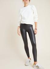 Spanx Faux Leather Leggings XS/S Black
