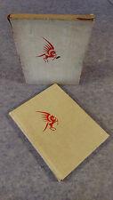 1929 SIGNED LIMITED EDITION BOOK SLIP CASE THREE & THE MOON DOREY & ARTZYBASHEFF