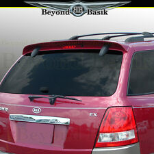 Fits 2003-2006 Kia Sorento Factory Style Rear Roof Spoiler Wing Fin UNPAINTED