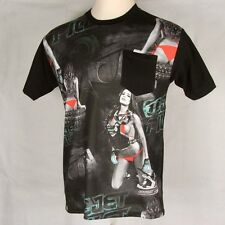 "Jetpilot Tee T Shirt Pocket ""Moto Gear"" Medium Moto FMX BMX 661 Sexy Girls -BNWT"