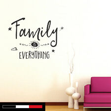 Wall Vinyl Decal Sticker | FAMILY | Home Decor | Mural Quote | Choose Color