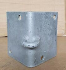 100 x 120mm Corner Bracket External GALVANISED DIY Shade sail wall mount fixing