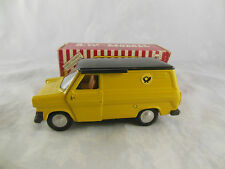 Extrêmement rare r w modell ref 401 ford transit kastenwagen jaune deutsche post