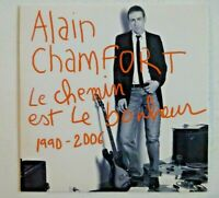 "ALAIN CHAMFORT - CD BEST OF 1990-2006 - avec les 7"" mixes single (EDITION RARE)"