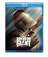 THE IRON GIANT : SIGNATURE EDITION - BLU RAY - Sealed Region free for UK